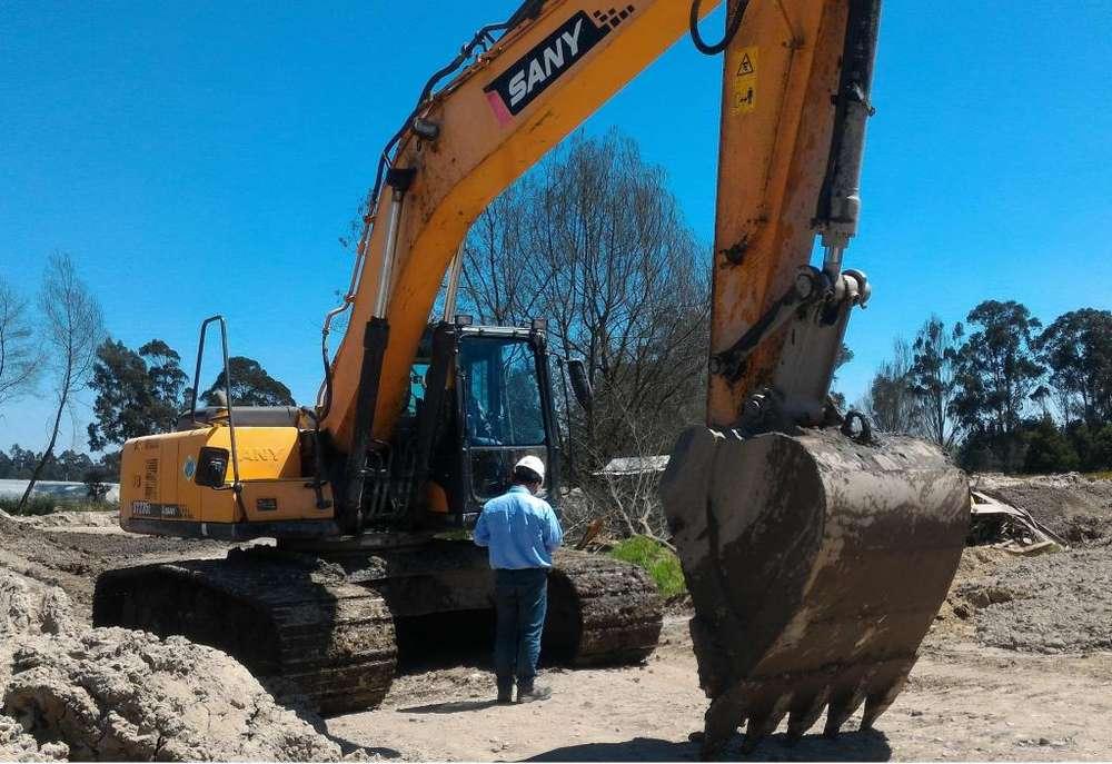 Retroexcavadora Excavadora Sany SY235C / 2014 / 24Ton