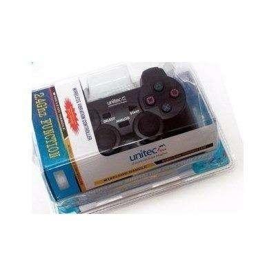 Control De Juegos Inalámbrico Unitec Para PC Y PS3 Con Vibración