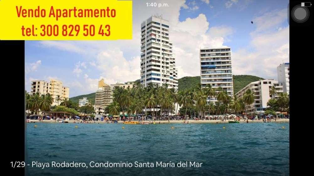 VENDO <strong>apartamento</strong>, PLAYA RODADERO, Condominio Santa maria del Mar, SANTA MARTA