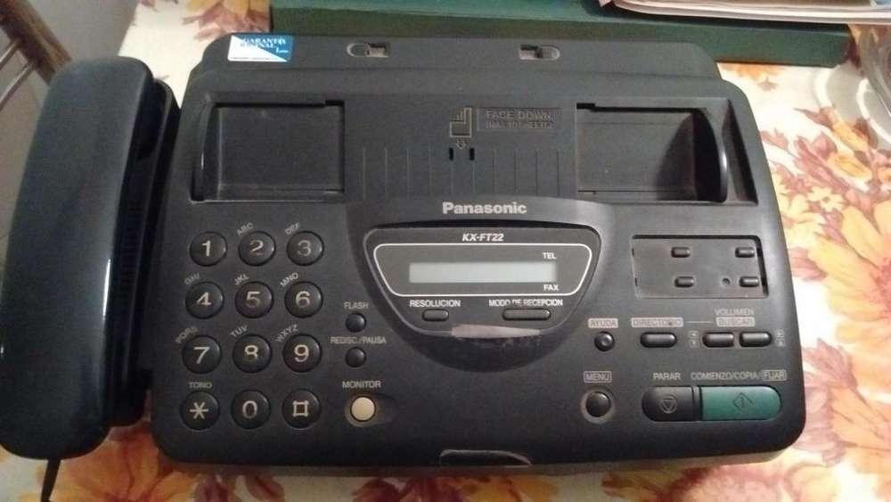 Teléfono <strong>fax</strong> Panasonic Identificador De Llamadas