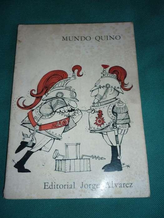 MUNDO QUINO . ANTIGUO LIBRO DIBUJO HUMORISTICO . QUINO 1967