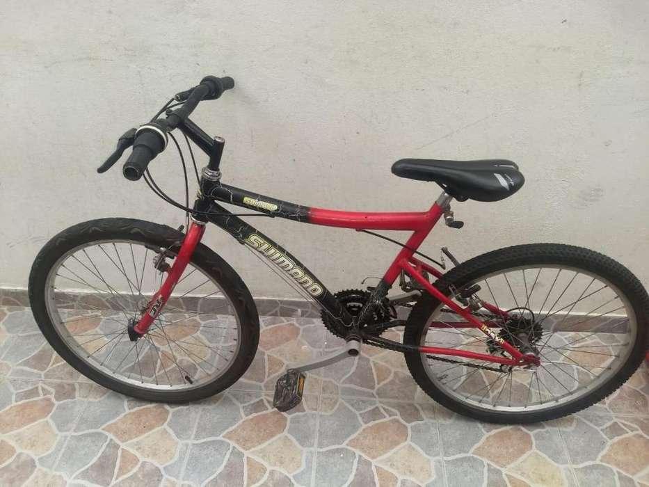 Bicicleta Shiimano