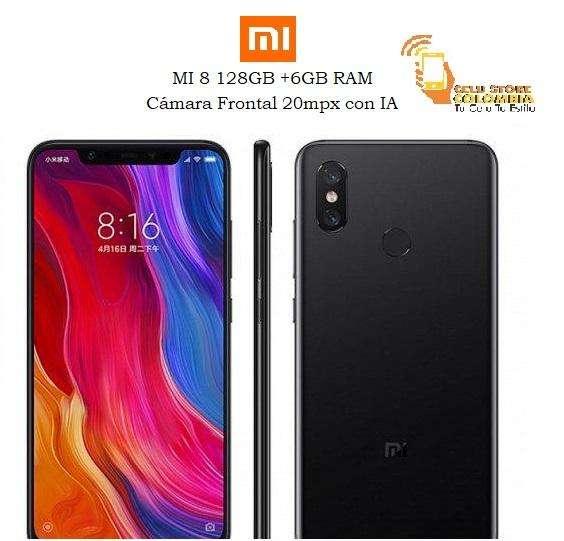 Xiaomi Mi 8 128gb /6gb Ram NUEVO Y ORIGINAL CON FACTURA LEGAL