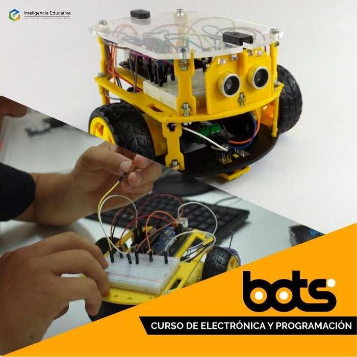 Bots - Curso de robótica a distancia mas Kit Arduino.