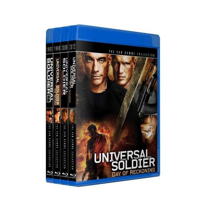 Soldado Universal Soldier Saga Bluray Colección 4 Peliculas