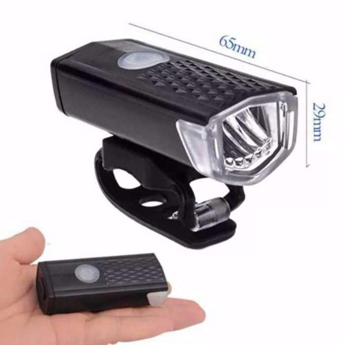 Lámpara Recargable para Bicleta.