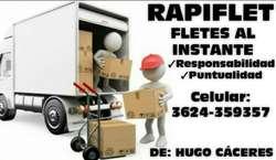 Fletes Las 24 Hs ....3624359357