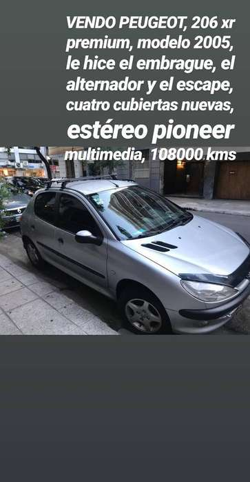 Peugeot 206 2005 - 108000 km