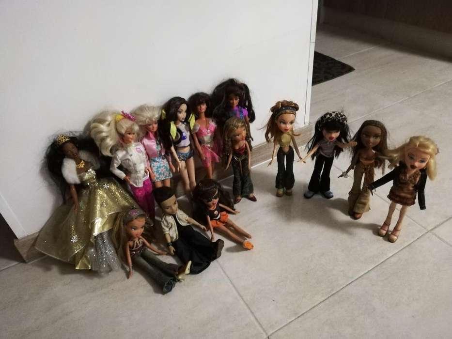 Lote de Barbie Originales