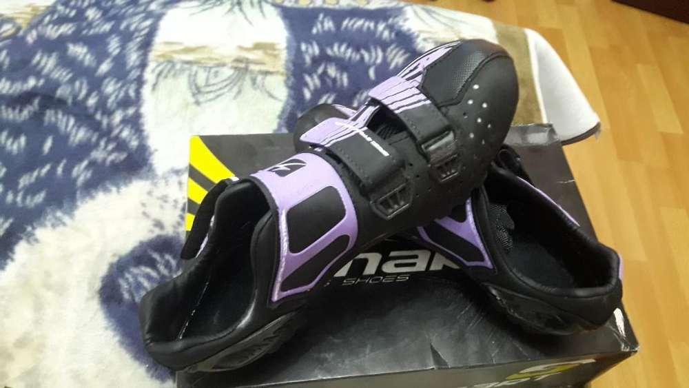 Se Vende Zapatillas para Ciclismo Dama