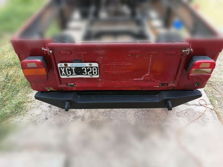 Paragolpe Trasero <strong>jeep</strong>. Bumper