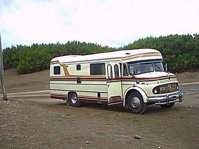<strong>motorhome</strong> mercedes bens 1114 con direccion impecable 1973