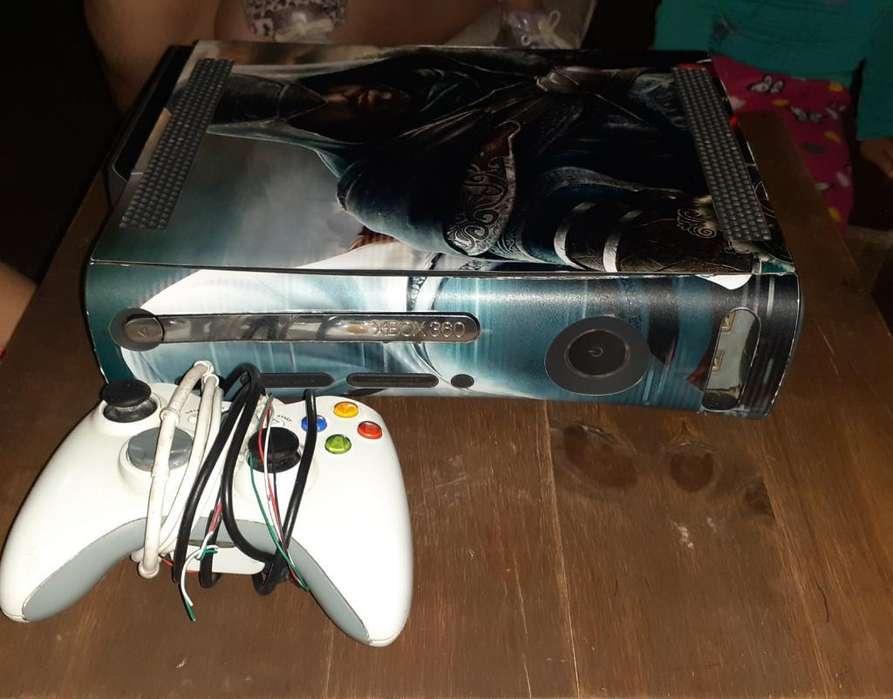 Xbox 360 con Juegos Un Solo Jostick