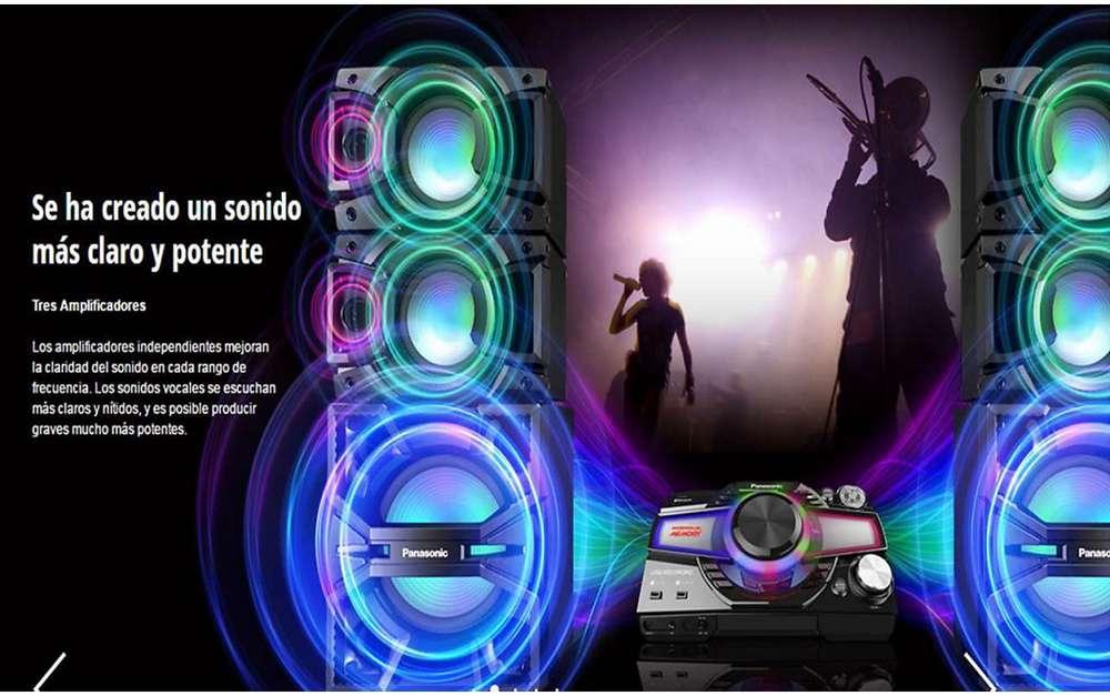 minicomponente Panasonic Max7000
