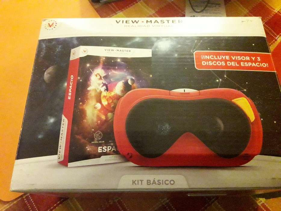 View Master - Lente de Realidad Virtual