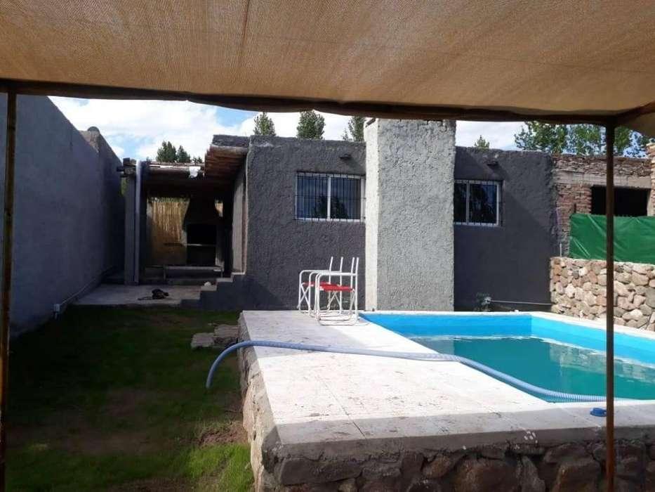 ma54 - Cabaña para 2 a 8 personas con pileta y cochera en Lujan De Cuyo