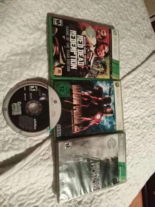 Juegos Xbox360 Originales X4