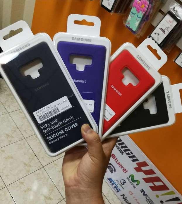 Estuche Silicona Samsung Note 9