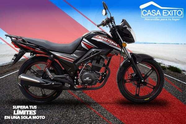 Moto Daytona Dy150 Wing 150CC Año 2018 Color Rojo / Negro