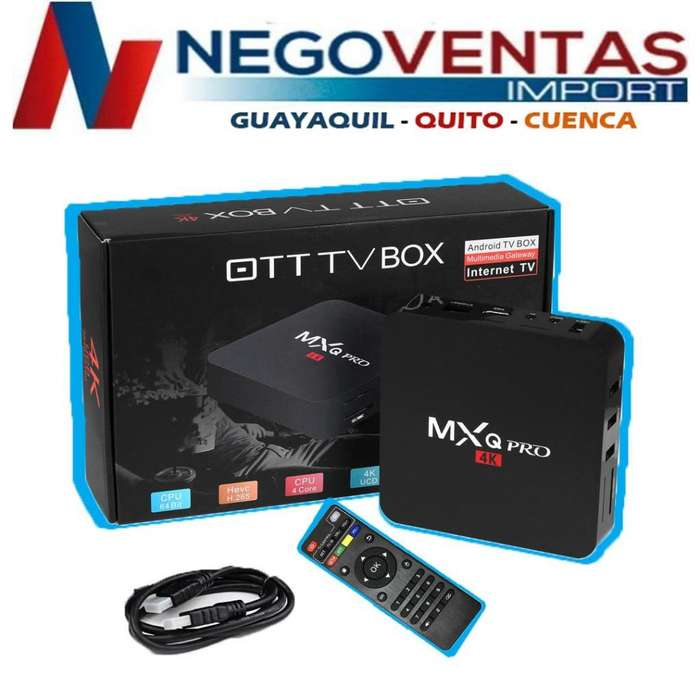 TV BOX MXQ PRO 2 RAM Y 16 GB INTERNA CONVERTIDOR DE TV A SMART TV