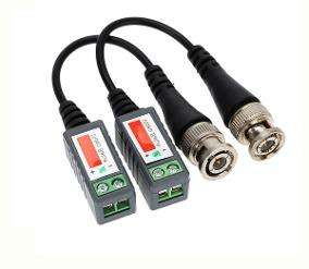 Balun 208 Conector Cable Utp Bornera Video Camara De Vigilancia 135