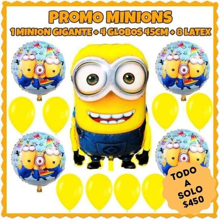 Promo globo minions