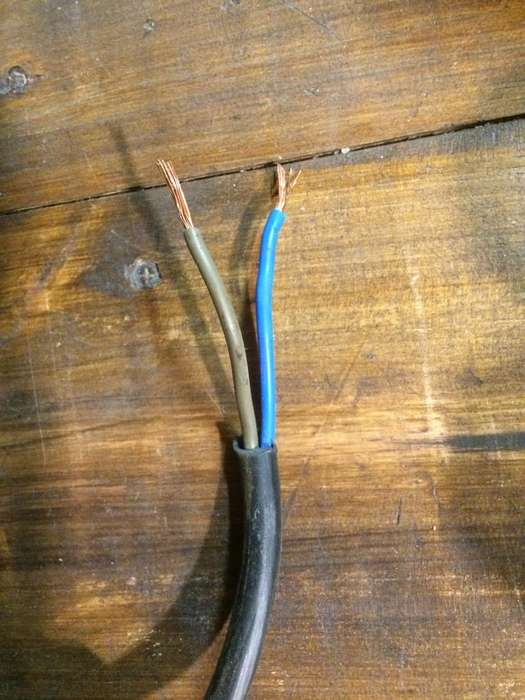 Cable Tipo Taller 2 X 2,5 Mm Normalizado Precio x Mt