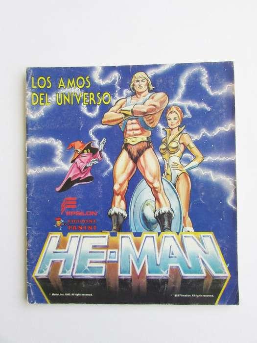 Álbum Heman Los Amos Del Universo Panini 80's