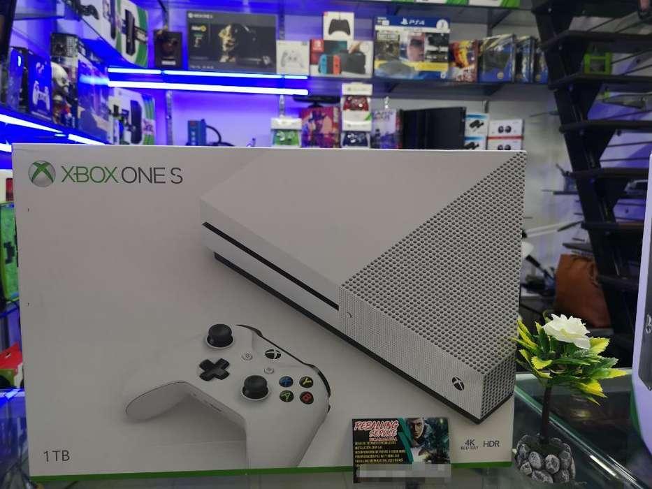 Xbox One S1tb Nuevo 1 Año de Garantía