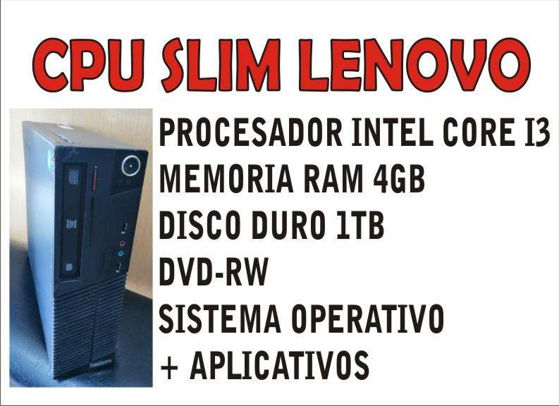 CPU SLIM LENOVO I3