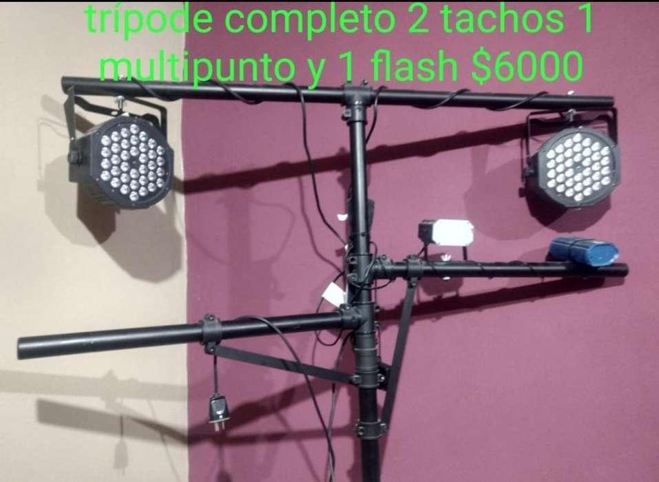 Torre de Luces ,crossover Y Parlante 18