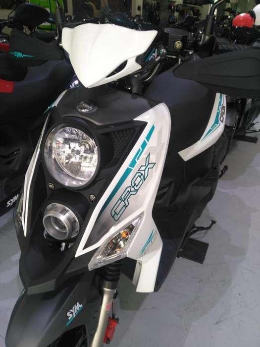 MOTOS SYM CROX 125CC MODELO 2020