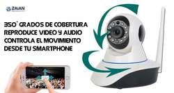 Camara Vigilancia Seguridad Ip Robotica 3MPX 3 ANTENAS WIFI FULLHD CCTV  Nueva