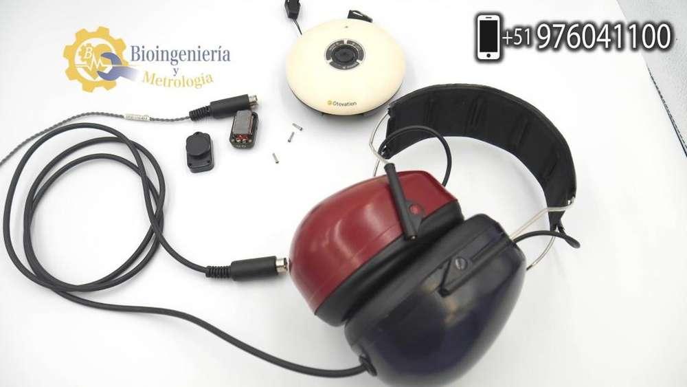 Reparación y Calibración de Audiometro Otovation