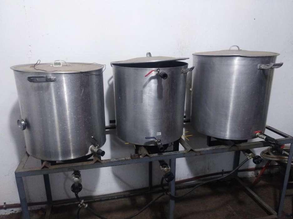 Bloque Coccion Cerveza Artesanal120 Litr