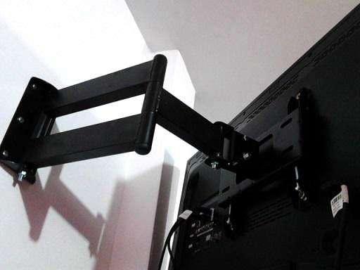 Rack nuevos para TV doble brazo movible de 24 a 42 y 32 a 60 delivery gratuito