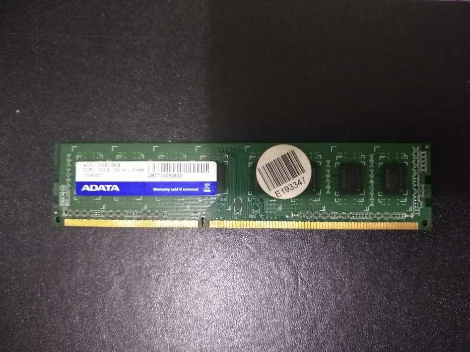 Memoria Ram Ddr3 con Capacidad de 2gb