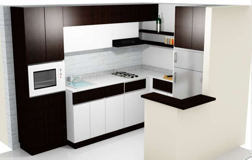 Cocinas Integrales Diseños Exclusivos - Muebles - 1100077252