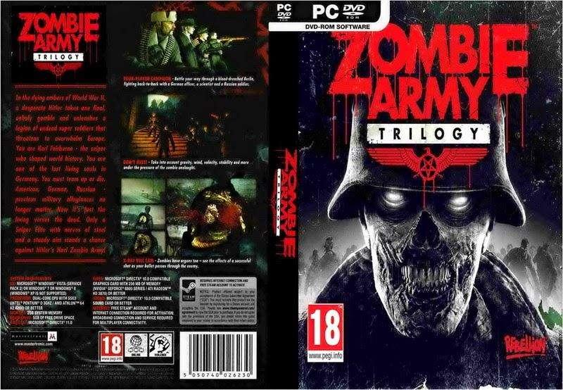 ZOMBIE ARMY TRILOGY PC ESPAÑOL ENVIO GRATIS HOY MISMO