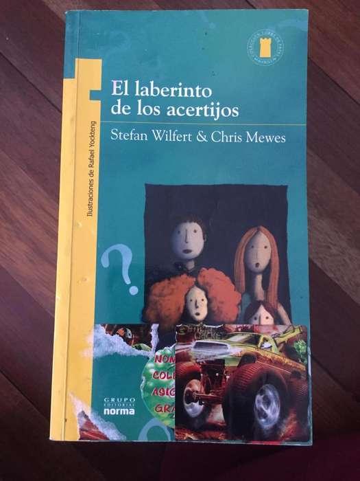 Vendo libros plan lector Norma, excelente estado y súper baratos!