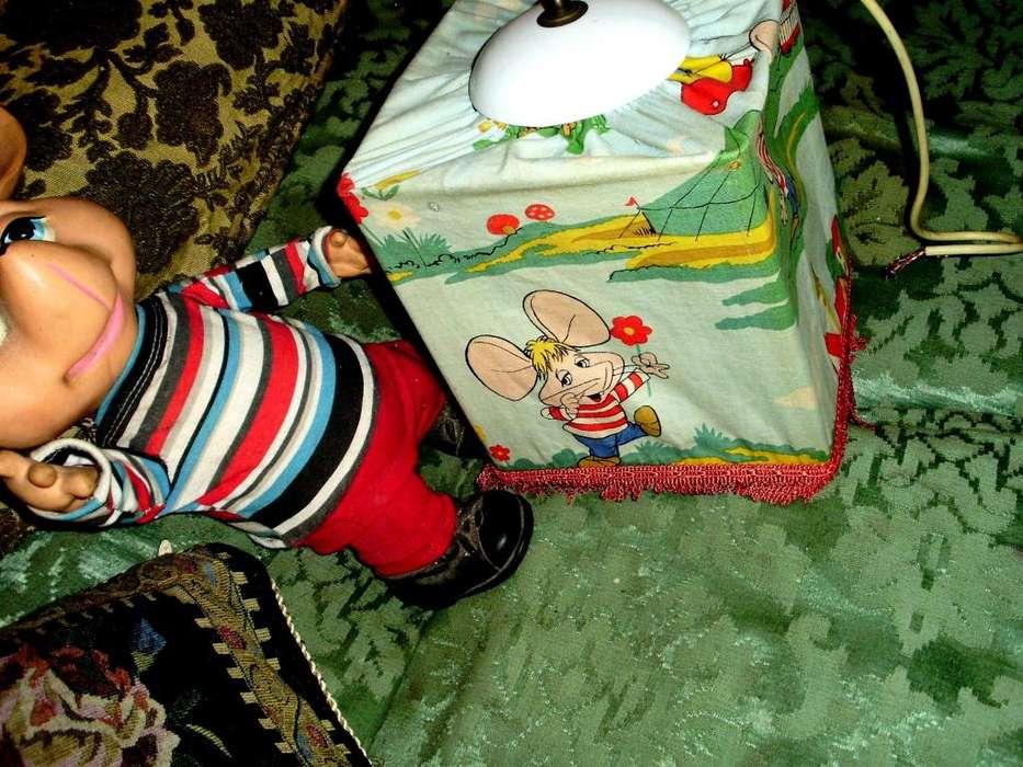 ANTIGUA LAMPARA INFANTIL COLECCION TOPO GIGIO, TECHONAVIDAD