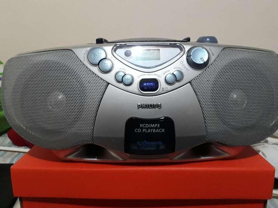 Radiograbador Cd Mp3 Reproduce Vcd