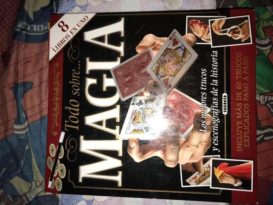 Libro con Mas de 60 Trucos de Magia