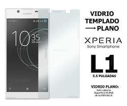 Funda Tpu Rigida Vidrio Templado Sony Xperia L1
