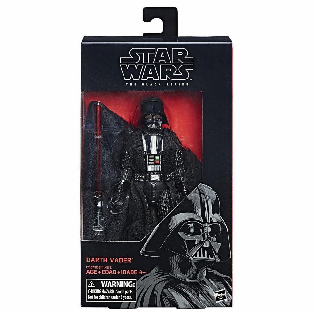 Figura de acción de Darth Vader de la serie Star Wars, negro, 6