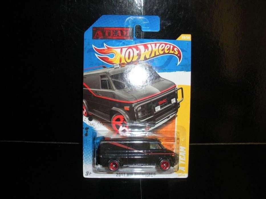 Camioneta Van Los Magnificos A Team Hotwheels 2011