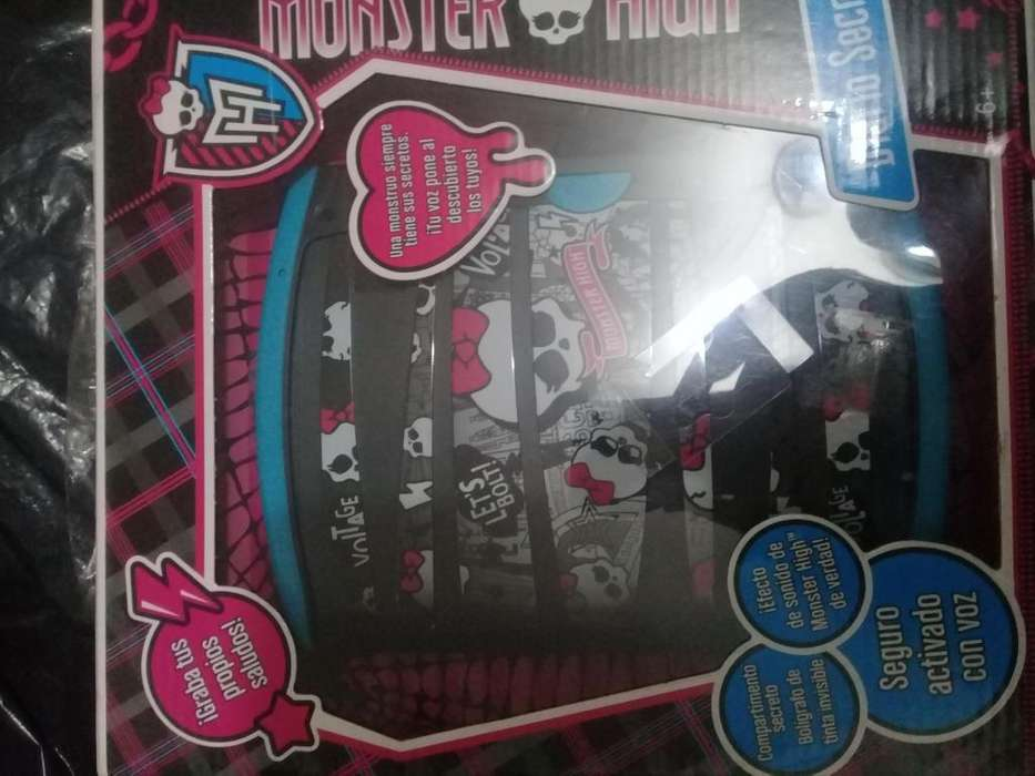 Diario monster high original