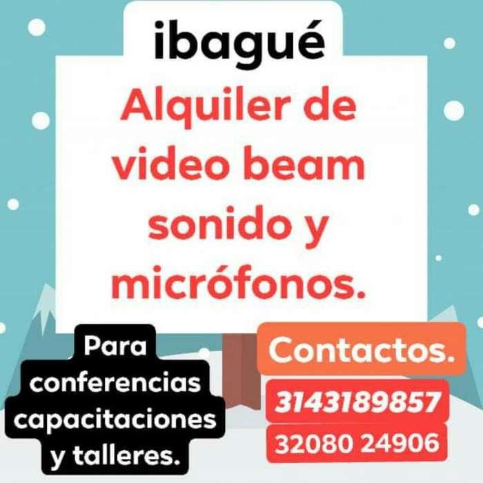 Alquiler de Video Beam Y Sonido.