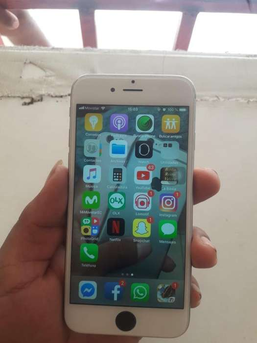 Iphone 6 de 64Gb (sin huella)