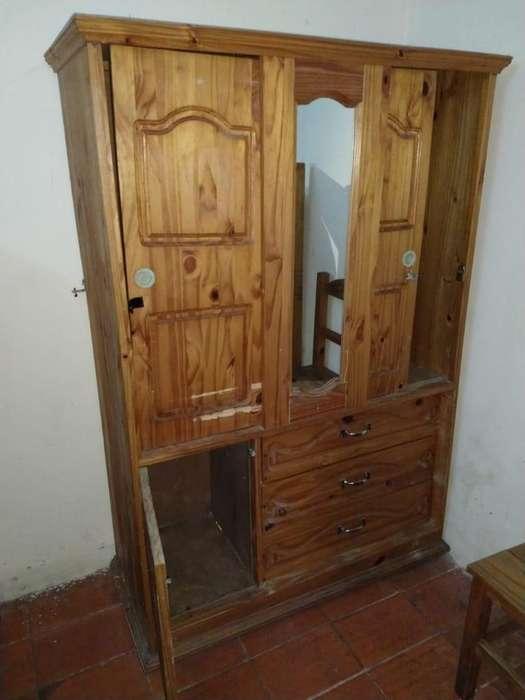 Combo Lote <strong>muebles</strong> Para Una Habitación, Cucheta, Mesa Silla,ropero